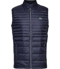 men s jacket väst blå lacoste