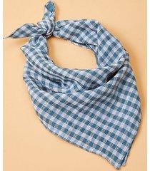 lou & grey lou & grey gingham scarf