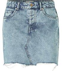 jeanskjol onlsky reg skirt raw edge