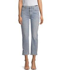 edie cropped jeans