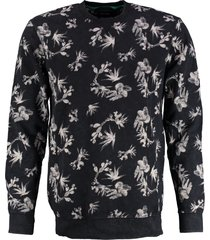 only & sons zachte zwarte sweater