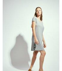 vestido gris portsaid wakebeach