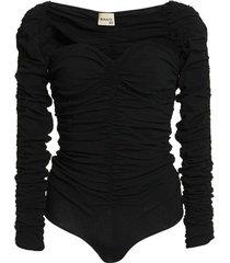deni shirred bodysuit (pre-order)