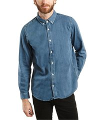 célestin japanese denim shirt