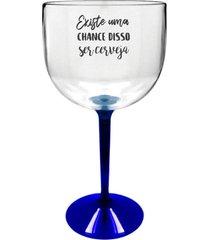 8 taã§as gin transparente com base azul personalizada para live - transparente - dafiti