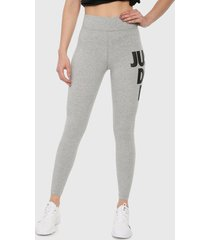 leggings gris-negro nike sportswear leg-a-see