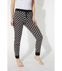 pantalone lungo stampato