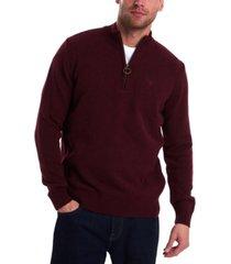 barbour men's tisbury half-zip sweater