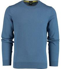 hugo boss pullover pacas blauw rf 50450180/489