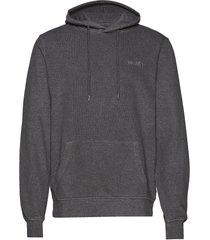 casual hoodie hoodie trui grijs han kjøbenhavn