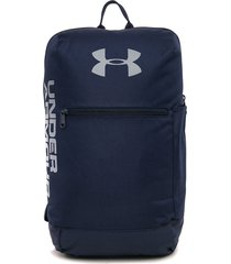 morral  azul-gris under armour patterson backpack academy