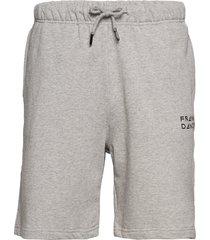 unisex solid sweat shorts shorts casual grå frank dandy