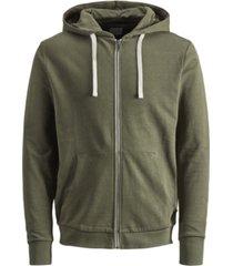 men's full-zip long sleeve hoodie sweatshirt