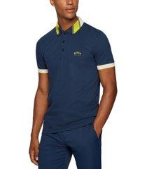 boss men's slim-fit logo polo shirt