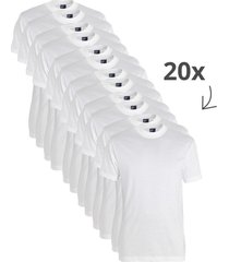 20-pack t-shirts virginia ronde hals