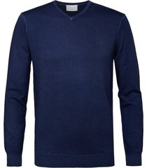 profuomo pullover donkerblauw