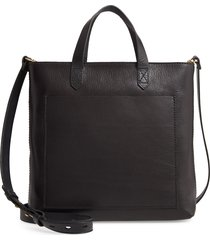 madewell the small transport crossbody bag - black