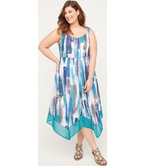 georgette dreams fit & flare dress