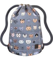 cats dwustronny plecak sack it!