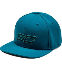 gorra azul under armour sc30 core hombre azul