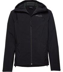 m nightbreak jacket tunn jacka svart peak performance