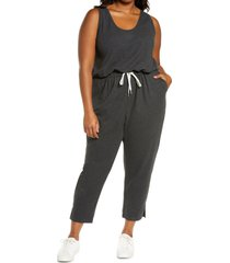 plus size women's zella gwen sleeveless knit romper