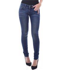 stretch skinny jeans met ritszakken