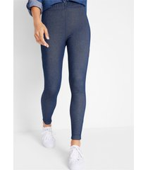 thermo legging in denim look