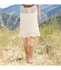 chatham crochet skirt