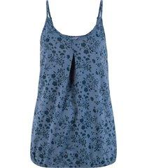 top in cotone fantasia (blu) - john baner jeanswear