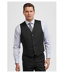 signature collection traditional fit solid men's suit separate vest - big & tall by jos. a. bank