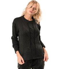sweater classic negro élida