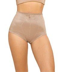 faja panty control fuerte marrón leonisa 01282