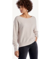 sanctuary women's chill out sweater in color: lilac snow size xs from sole society