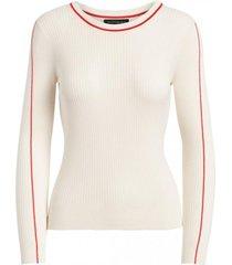 sweater stretch cotton blanco banana republic
