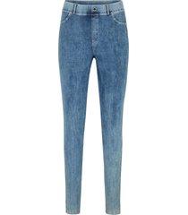 leggings med jeanslook