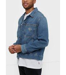 calvin klein jeans oversized iconics omega jacket jackor denim