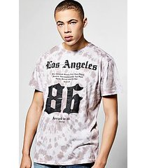 oversized tie dye t shirt with print