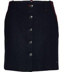 luitgard mini skirt korte rok blauw tommy hilfiger
