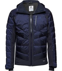 iceshelf jkt m outerwear sport jackets light jackets blå salomon