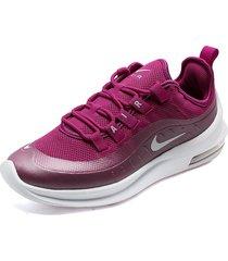 tenis running violeta-blanco nike air max axis
