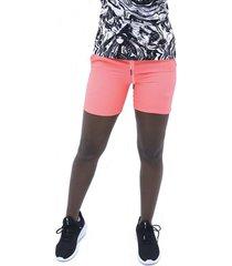 pantaloneta rosado fila pantalon