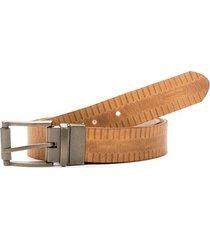 cinturón para hombre doble faz de cuero urano