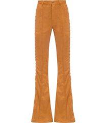 calça feminina rebeca - marrom