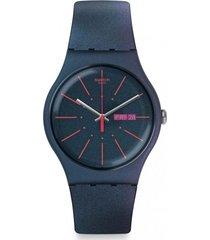 reloj new gentleman verde swatch
