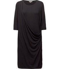 dress jurk knielengte zwart signal