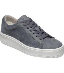woms lace-up sneakers skor blå tamaris
