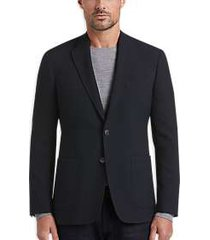 joe joseph abboud navy diamond weave slim fit sport coat