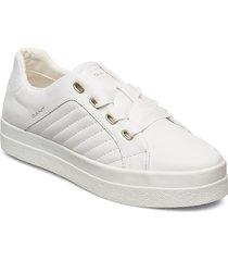 avona low lace shoes låga sneakers vit gant