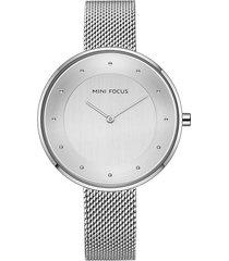 reloj análogo f0179l-2 mujer plata